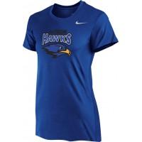 Hiteon 11: Nike Women's Legend Short-Sleeve Training Top - Royal Blue