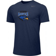 Hiteon 07: Adult-Size - Nike Team Legend Short-Sleeve Crew T-Shirt - Navy Blue