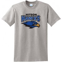 Hiteon 25: Adult-Size - Gildan Heavy Cotton T-Shirt - Gray